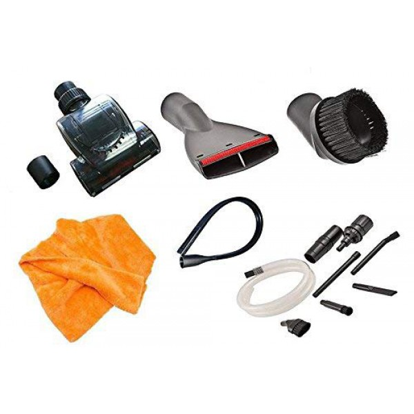 Universal Deluxe Micro Vacuum Cleaner Attachment Tool Kit (32-35 mm). Genuine Green Label Product