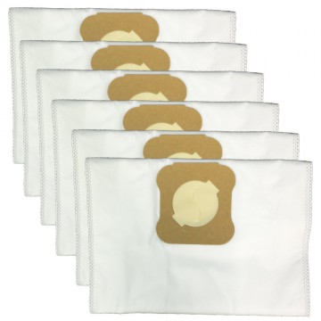 Green Label 6 Pack for Kirby HEPA Dust Bags. Fits All Generation Series Models (compares to 204803)