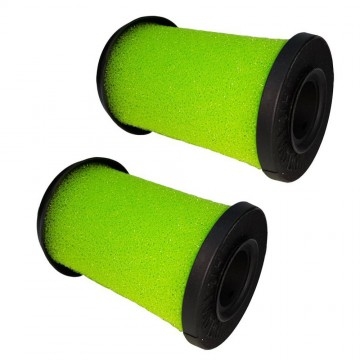 2 Pack Foam Filter for Gtech Multi Handheld Vacuum Cleaners (2013-2015). Washable and Reusable (compares to ATF001). Genuine Green Label Product