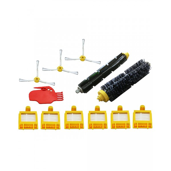 Green Label Replacement Spare Parts Accessories Kit for iRobot Roomba 700 Series Vacuuming Robots (compares to 4503462)